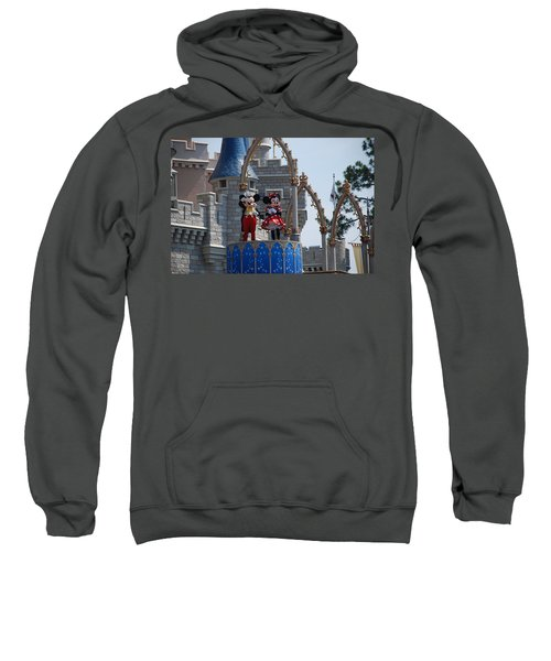 Mickey And Minnie In Living Color Sweatshirt