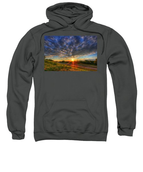 Midwest Sunset After A Storm Sweatshirt