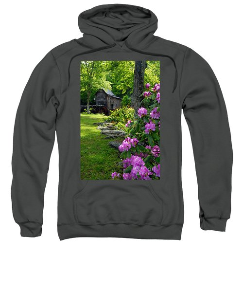 Mill And Rhododendrons Sweatshirt