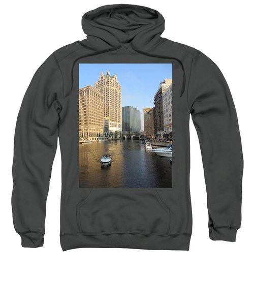 Milwaukee River Theater District 3 Sweatshirt