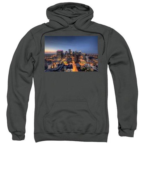 Minneapolis Skyline At Night Sweatshirt