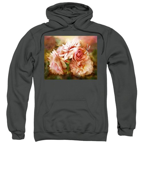 Miracle Of A Rose - Peach Sweatshirt