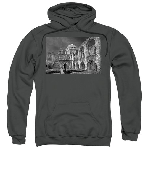 Mission San Jose Arches Bw Sweatshirt