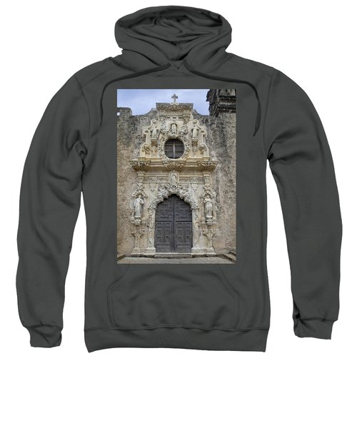 Mission San Jose Doorway Sweatshirt
