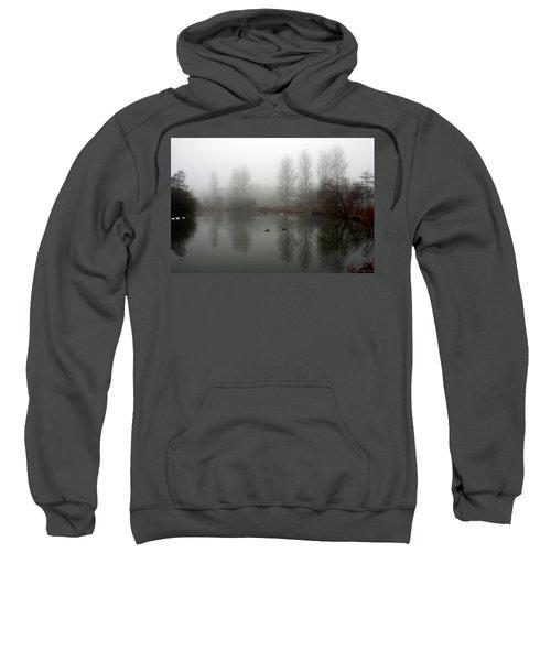 Misty Lake Reflections Sweatshirt
