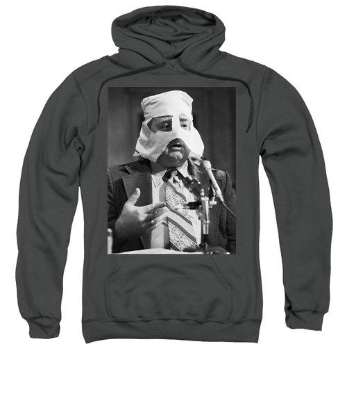 Mob Figure Testifies Sweatshirt