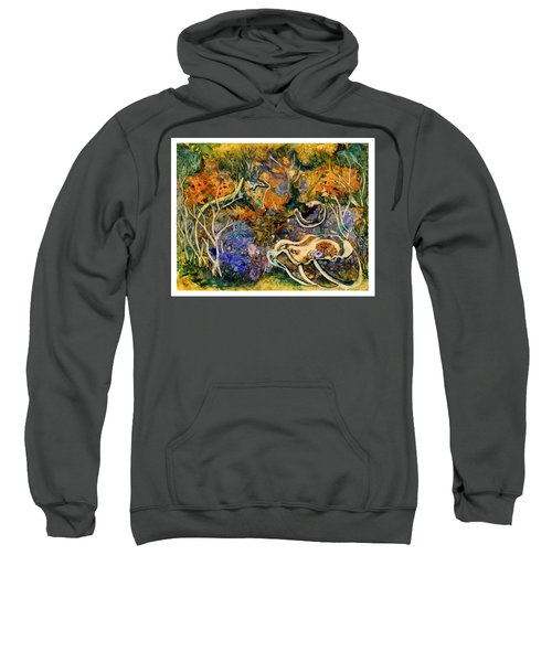 Monet Under Water Sweatshirt