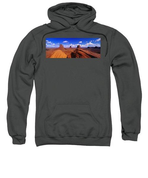 Monument Valley, Arizona, Usa Sweatshirt