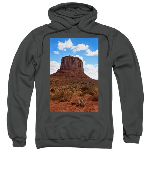 Monument Valley Monolith West Mitten Butte Sweatshirt