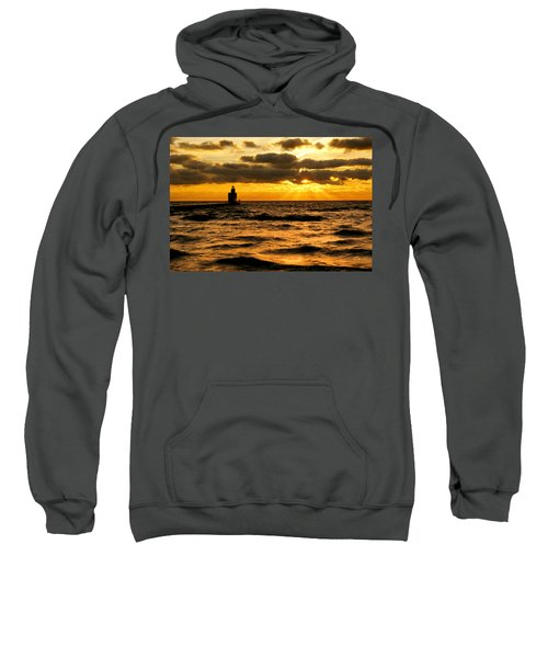 Moody Morning Sweatshirt by Bill Pevlor