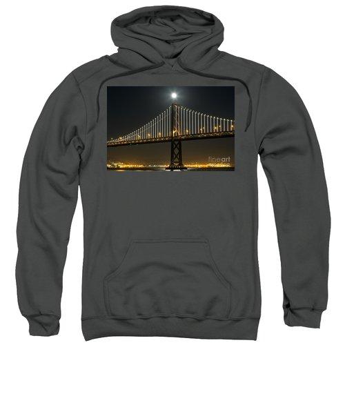 Moon Atop The Bridge Sweatshirt