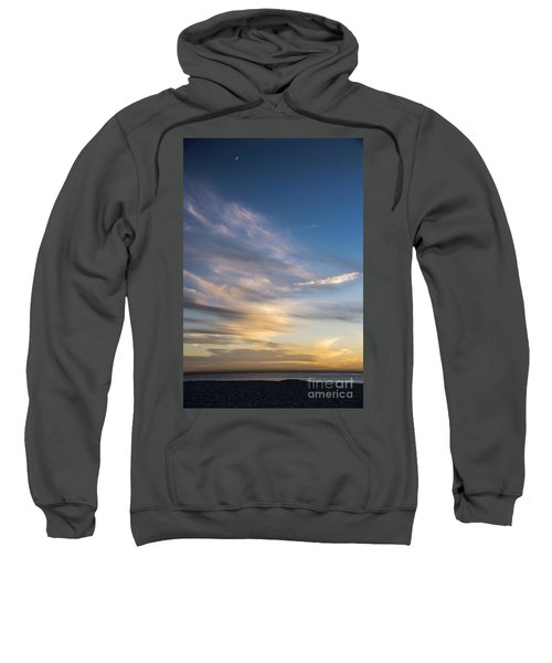 Moon Over Doheny Sweatshirt by Peggy Hughes