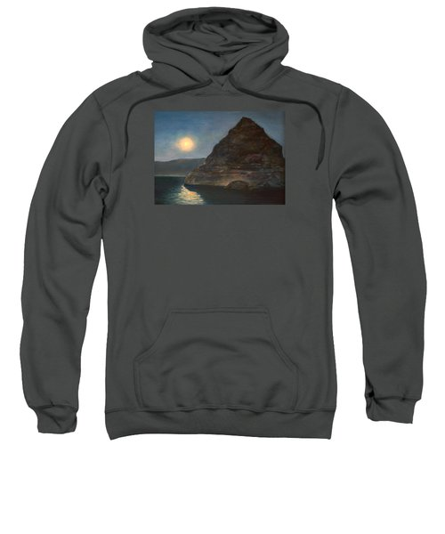 Moonlight On Pyramid Lake Sweatshirt
