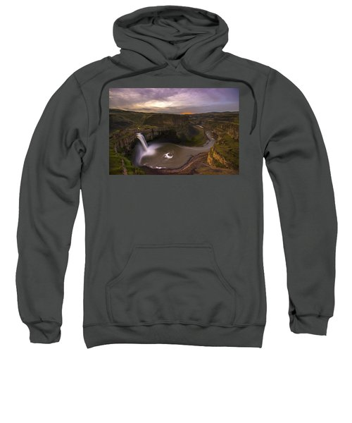 Moonlit Palouse Falls Sweatshirt