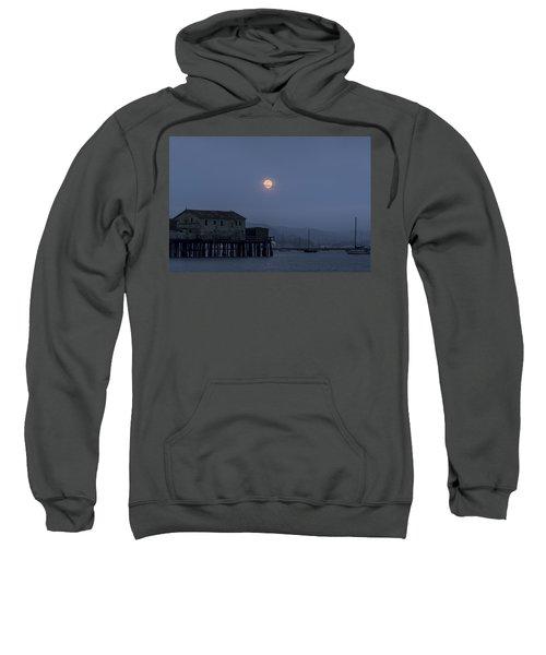 Moonrise Over The Harbor Sweatshirt