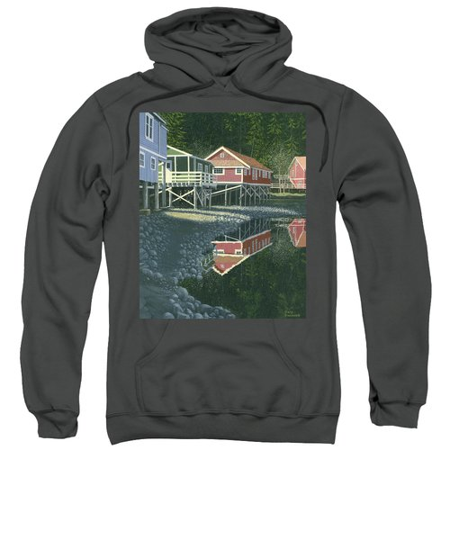 Morning At Telegraph Cove Sweatshirt