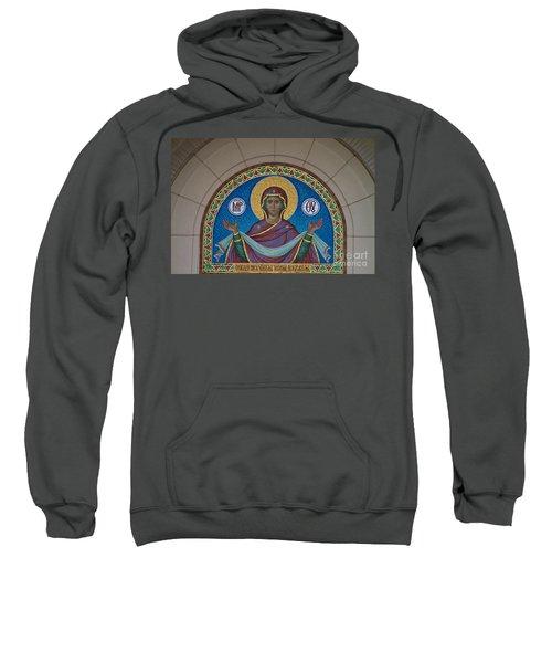 Mother Of God Mosaic Sweatshirt