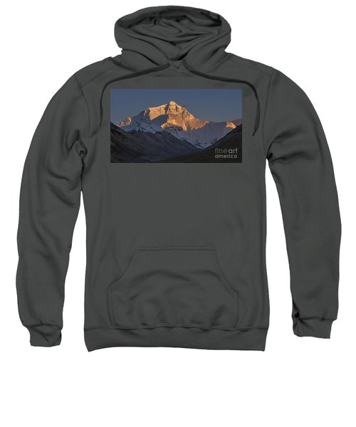 Mount Everest At Dusk Sweatshirt