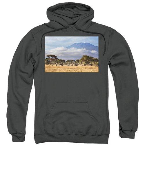 Mount Kilimanjaro Amboseli  Sweatshirt