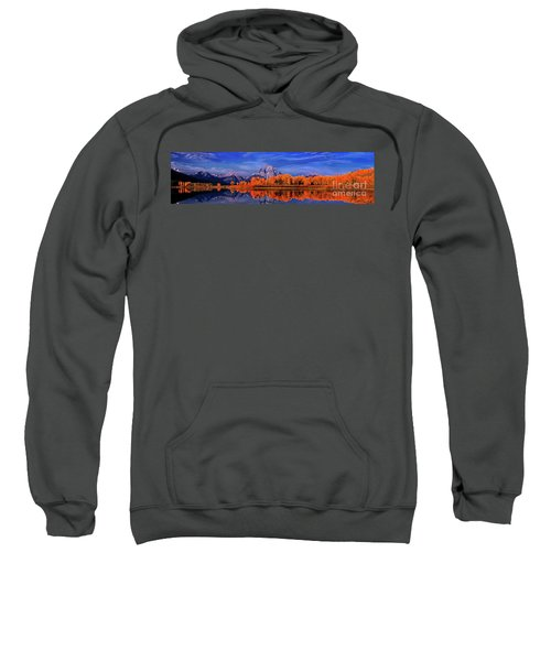 Mount Moran And Fall Color Grand Tetons Sweatshirt