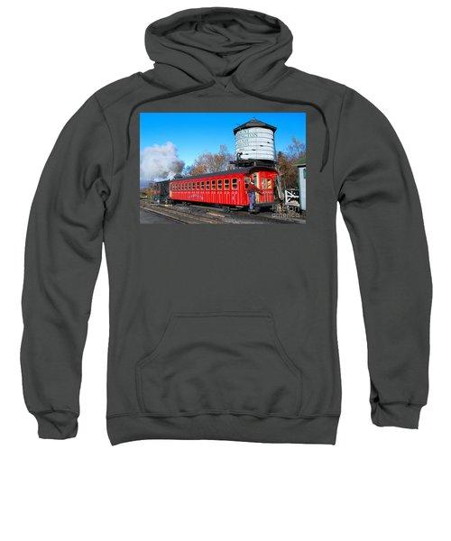 Mount Washington Cog Railway Car 6 Sweatshirt