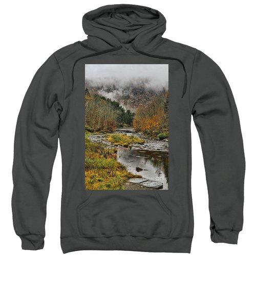 Mountain Colors And Fog Sweatshirt