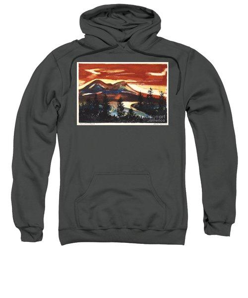 Mountain Sunset Sweatshirt