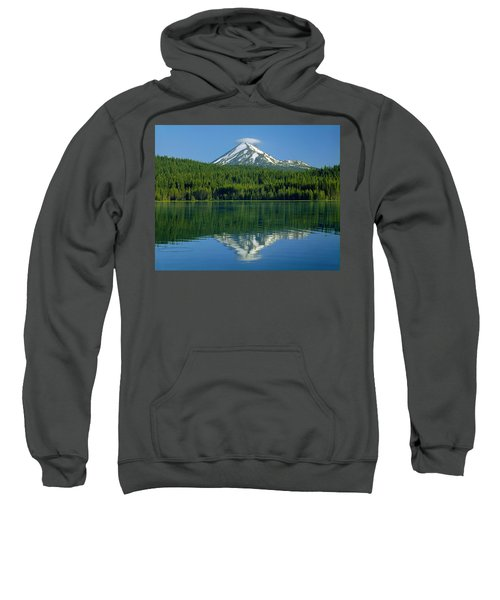 1m5705-h-mt. Mcloughlin From Lake Of The Woods Sweatshirt