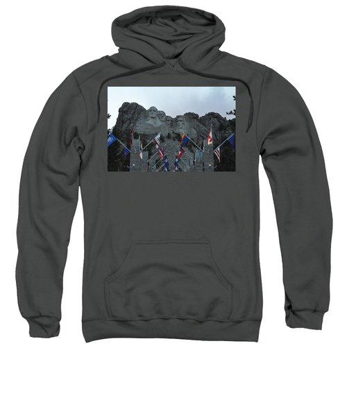 Mt. Rushmore In The Evening Sweatshirt