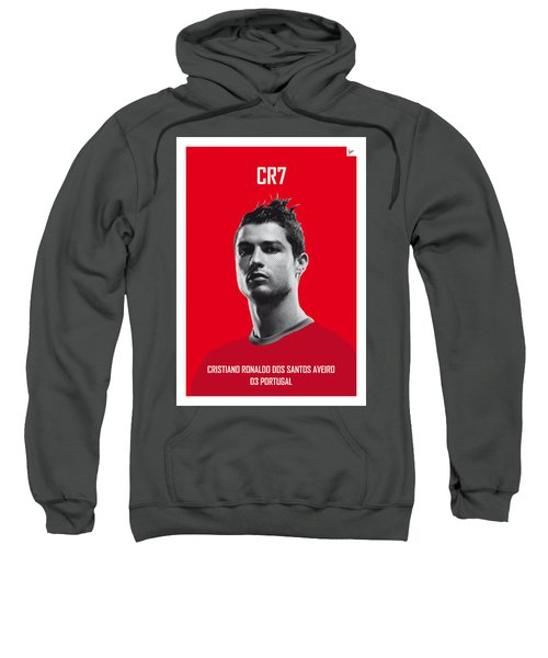 My Ronaldo Soccer Legend Poster Sweatshirt by Chungkong Art