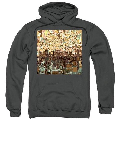 Nashville Skyline Abstract 4 Sweatshirt