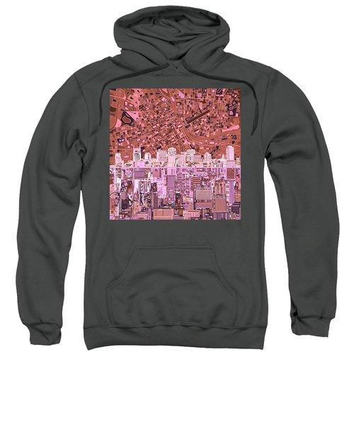 Nashville Skyline Abstract 7 Sweatshirt