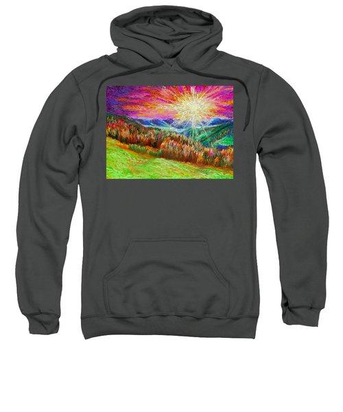 Nature 1  25 2015 Sweatshirt