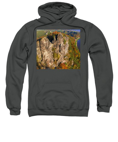 Neurathen Castle In The Saxon Switzerland Sweatshirt