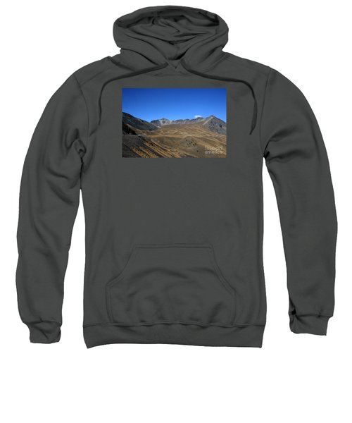 Nevado De Toluca Mexico Sweatshirt