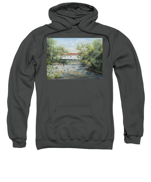 New Jersey's Last Covered Bridge Sweatshirt