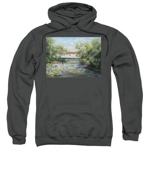 New Jersey's Last Covered Bridge Sweatshirt
