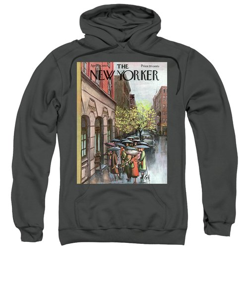 New Yorker April 21st, 1951 Sweatshirt