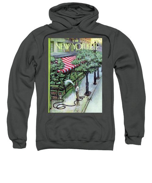 New Yorker August 27th, 1955 Sweatshirt