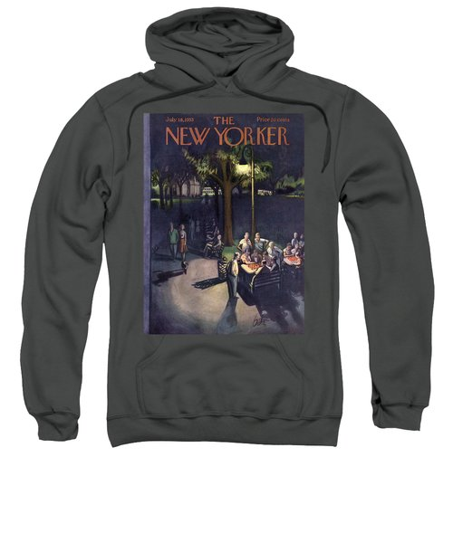New Yorker July 18th, 1953 Sweatshirt