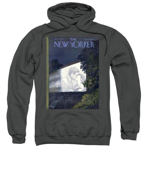 New Yorker June 19th, 1954 Sweatshirt