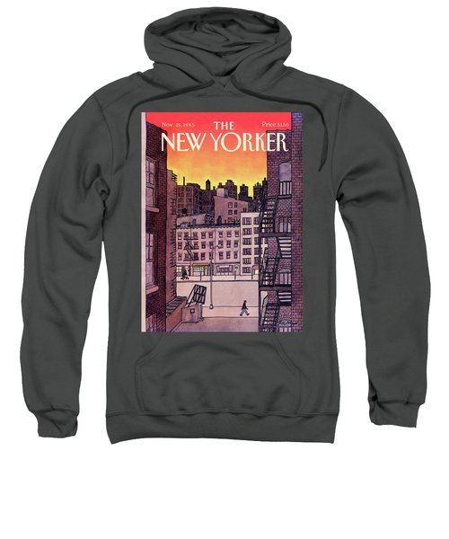 New Yorker November 25th, 1985 Sweatshirt