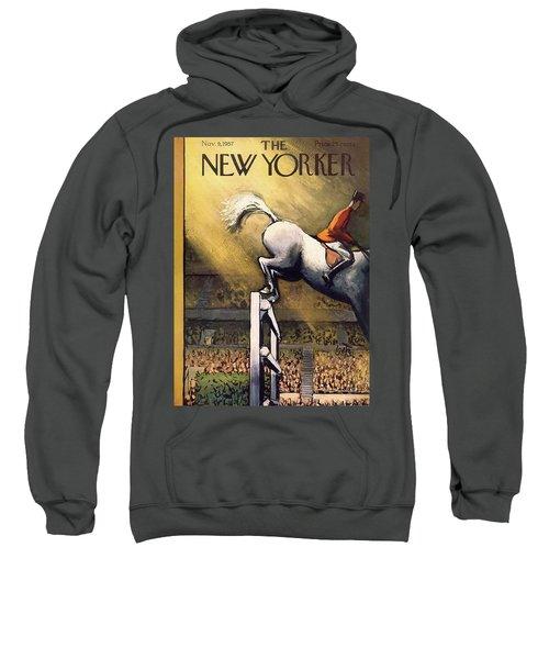 New Yorker November 9th, 1957 Sweatshirt