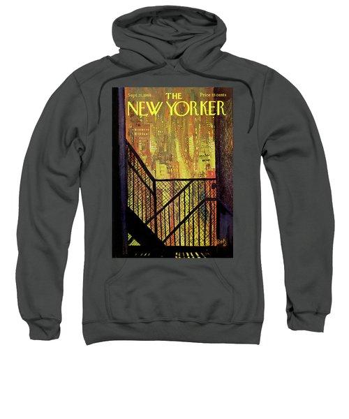 New Yorker September 21st, 1968 Sweatshirt