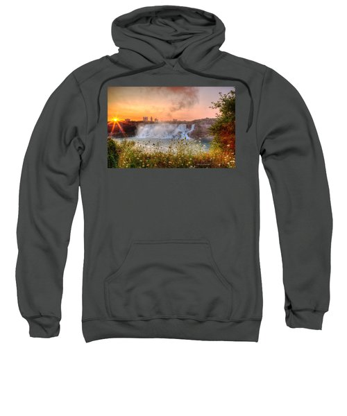 Niagara Falls Canada Sunrise Sweatshirt
