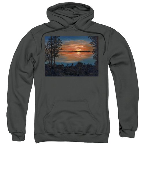 Nightfall At Loxahatchee Sweatshirt