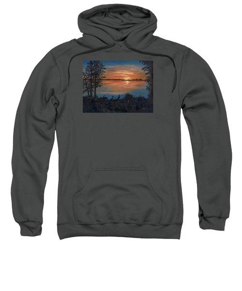 Nightfall At Loxahatchee Sweatshirt