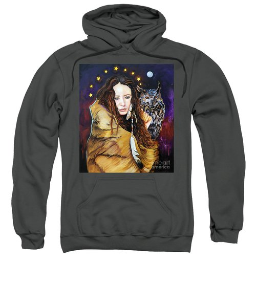 Nine Stars Woman / Owl Medicine Sweatshirt