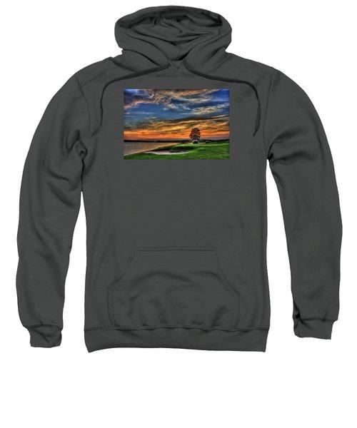 No Better Day Golf Landscape Art Sweatshirt