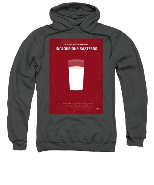 No138 My Inglourious Basterds Minimal Movie Poster Sweatshirt